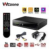 #8: Wezone Digital DVB-S2 Set Top Box 888 Plus A Free to Air Satellite TV Receiver 1080P Full HD PVR USB HDD