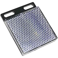 BeMatik - Espejo Reflector catadióptrico Rectangular para fotocélula fotoeléctrica 47x47mm