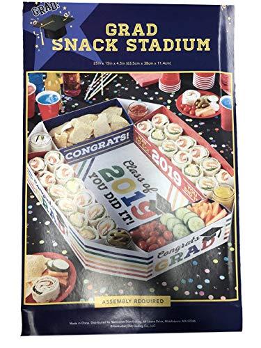 Nantucket Class of 2019 Graduation Sectional Snack Stadium Serve Your Party Favorites Congratulations Grad