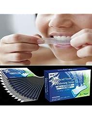 Levin Dental 28pcs/set Home dientes blanqueamiento tiras de blanqueamiento Blanqueamiento Whitestrips