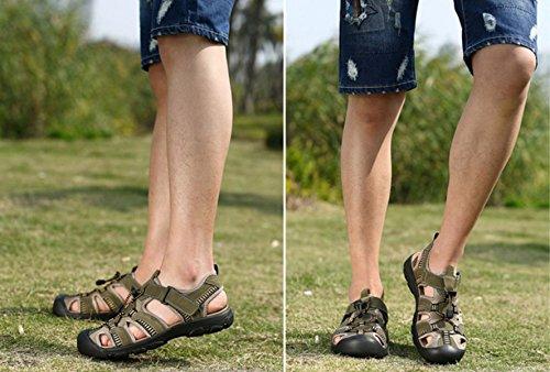 Sandalen Sandalen Männer Hausschuhe Outdoor-Watschuhe Green