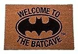 DC Universe Batman - Welcome to The Batcave - Fußmatte - Offizielles Merchandise   Türmatte aus Kokos und Kunststoff in Schwarz