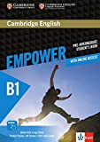 Cambridge English Empower B1: Student's Book + assessment package, personalised practice, online workbook & online teacher support