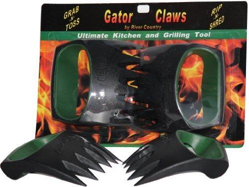 Gator Claws TM Fleischgabel. Perfekt für geschreddert Schweinefleisch oder Serving gebratenes Fleisch wie Pute und Huhn