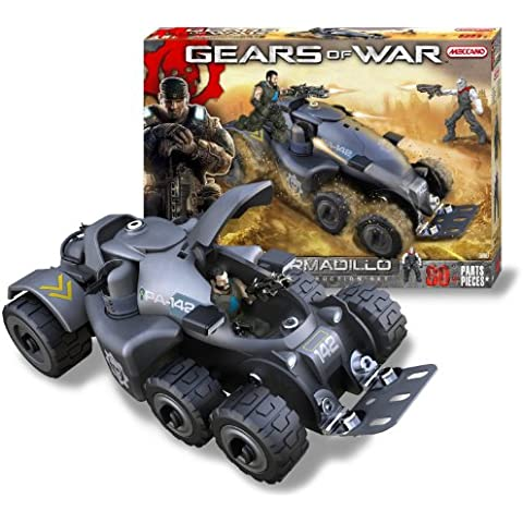 Meccano Gears of War Armadillo Construction Set 80 pices 2 figures kit 5450