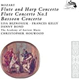 Konzert für Flöte & Harfe / Flötenkonzert Nr.1 / Fagottkonzert