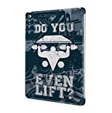 Do You Even Lift? Apple iPad Air 2 SnapOn Hard Plastic Tablet Protective Housse Etui Case Cover
