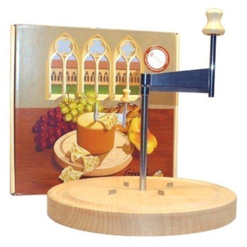 Girolle Original Swiss Made Käsehobel für Tete de Moine und Choco Roulette ohne Haube ohne Käse