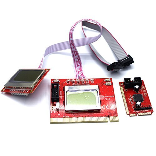 LEAGY PTI8 Laptop PC & Computer PCI Motherboard Diagnostic Tester Analyzer Post Card  available at amazon for Rs.2509