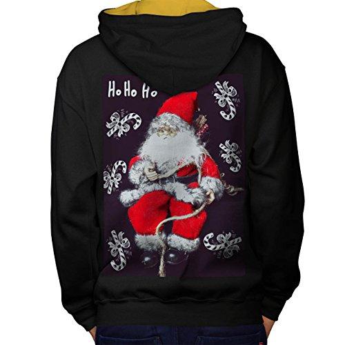ich Spielzeug Weihnachten Weihnachten Men S Kontrast Kapuzenpullover Zurück | Wellcoda (Niedliche Halloween-kostüm Ideen Für Schwestern)