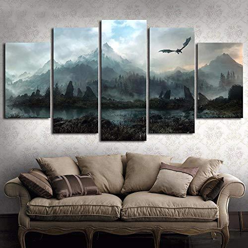 WJY Lienzo Arte pared Imágenes Decoración hogar