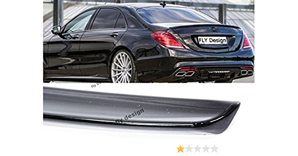 Car Tuning24 54428513 Wie Amg S Klasse 2013 W222 Heckspoilerlippe Schwarz Matt Auto