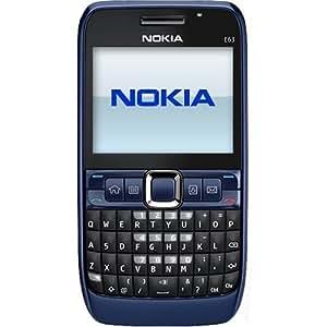 Nokia E63 Blue Nokia E63 SIM-F...