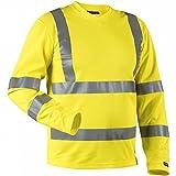 Blakläder 338110703300s camiseta de manga larga clase 3talla S amarillo