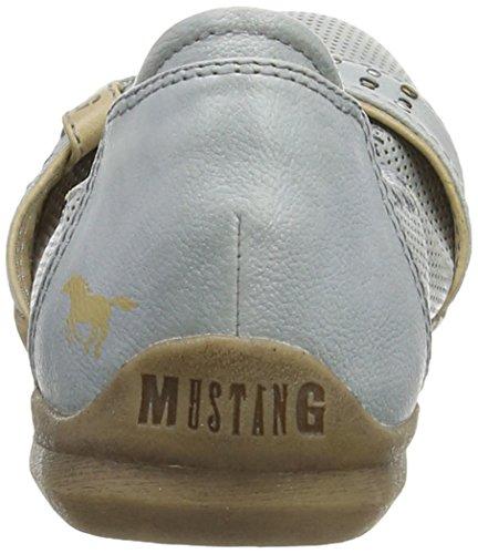 Mustang 1181-203-875 Damen Geschlossene Ballerinas Blau (875 sky)