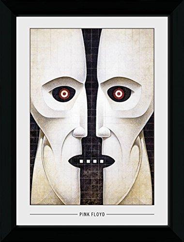 GB eye Ltd Pink Floyd, Maske Kunstdruck, gerahmt, 50x 70cm, Holz, Verschiedene, 55x 75x 2,9cm -