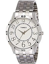 Timex Analog White Dial Men's Watch - TI002B11500