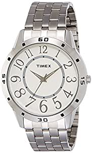 Timex Analog White Dial Men's Watch - TI002B11500