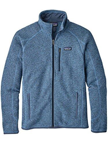 Patagonia Better Sweater Herren Fleecejacke railroad lite blue