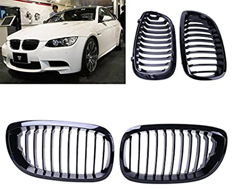 Sengear SNG-CAR-P191 Gloss Black Kidney Front Grille Grill Hood Nose