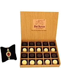 DEARCO CHOCOLATIER CHOCOLATE GIFT BOX, RAKHI CHOCOLATE For BROTHER, Luxury Rakhi Gift, PREMIUM RAKHI GIFT CHOCOLATES... - B073ZMRZ98