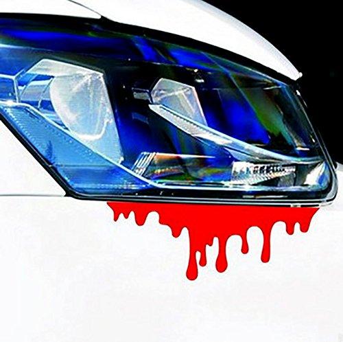 KUNFINE Auto Styling Aufkleber Bleeding Auto Aufkleber Vinyl Aufkleber Dekoration Film Aufkleber DIY Auto Tuning Teile