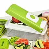 Multi Vegetable Chopper, Food Chopper, Cutter,Slicer, Dicer, Kitchen Cutter Set onion tool available at Amazon for Rs.15175