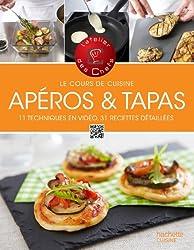 Cours de cuisine - Apéros & tapas