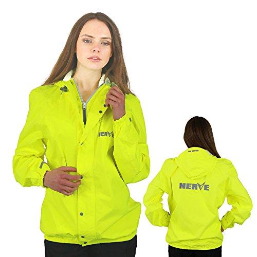 Leichte -Amazon- Regenjacke Motorrad Regenbekleidung Wasserdicht Damen Herren Jungen Atmungsaktiv Wasserdicht - gelb - M