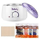 Wax Heater Pot, Wolady Waxing Warmer Hair Removal Kit Professional Hot Wax Machine