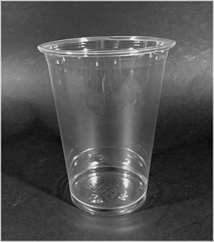 50 x gobelet jetables Smoothie Gobelets PET ausschank Gobelets Gobelets Plastique Gobelet 400 ml