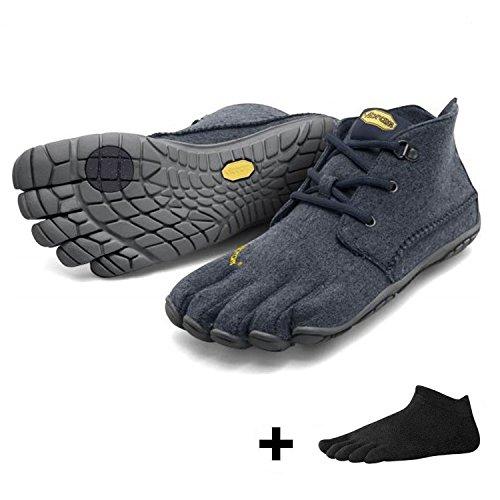 Vibram FiveVibram CVT Wool Men + Zehensocke , Size:46;Color:Navy/Grey -