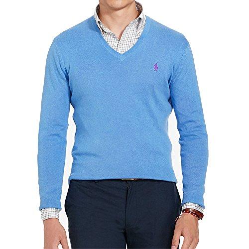 Ralph Lauren - Pullover mit V-Ausschnitt Blau
