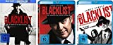 The Blacklist - die komplette Staffel 1-3 im Set - Deutsche Originalware [18 Blu-rays]