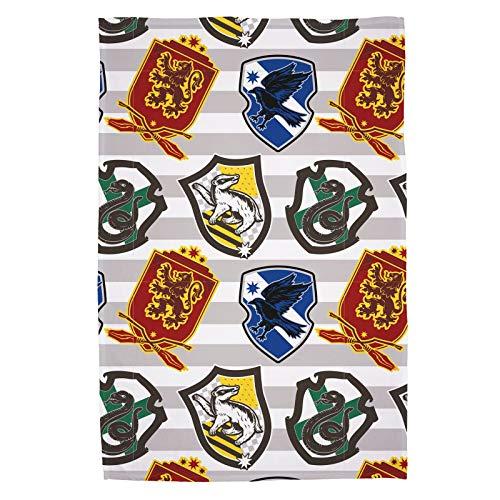 Character World Manta de Forro Polar Oficial de Harry Potter, diseño de...