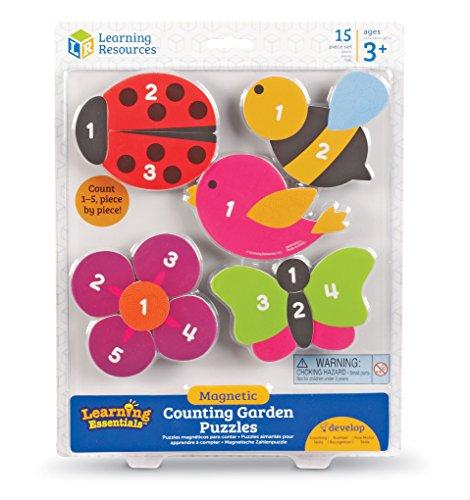 Learning Resources Puzzles Du Jardin Aimantés Pour Compter De -