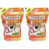 Choostix Chicken Dog Treat, 450g (Pack of 2)