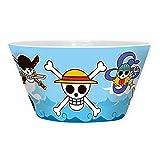 One Piece - Keramik Müslischüssel Müslischale - Strohhut Piratenbande Logo