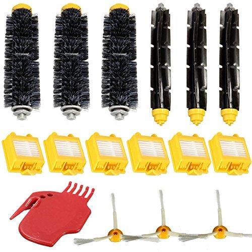 Preisvergleich Produktbild Bazaar 16pcs HEPA-Filter-Pack 3 Ersatz-Set für iRobot Roomba 700 Serie 760 770 780