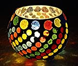 #10: Maharaj Creation Decorative Table Tea Light Candle Holder (3 inches)