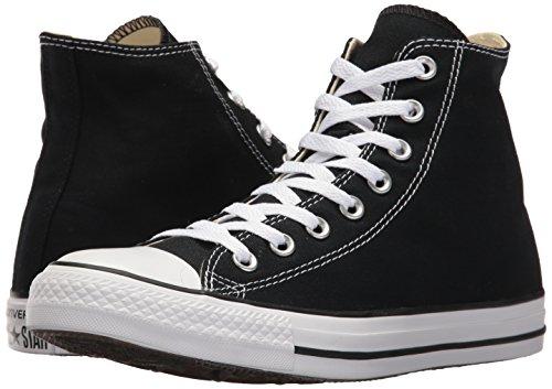 Converse Chuck Taylor All Star, Unisex-Erwachsene Hohe Sneakers, Schwarz (M9160 Schwarz) 42 EU - 6