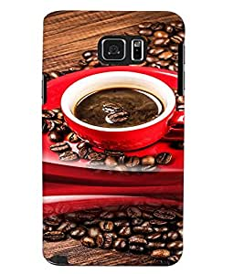 Fuson Premium Brewing Coffee Printed Hard Plastic Back Case Cover for Samsung Galaxy Note 5