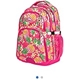"""High Sierra(R) Swerve Backpack with 17"""" Laptop Pocket, Flamingo/Pink Pineapple"""