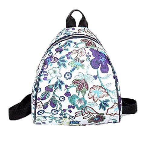 squarex , Damen Rucksackhandtasche violett violett