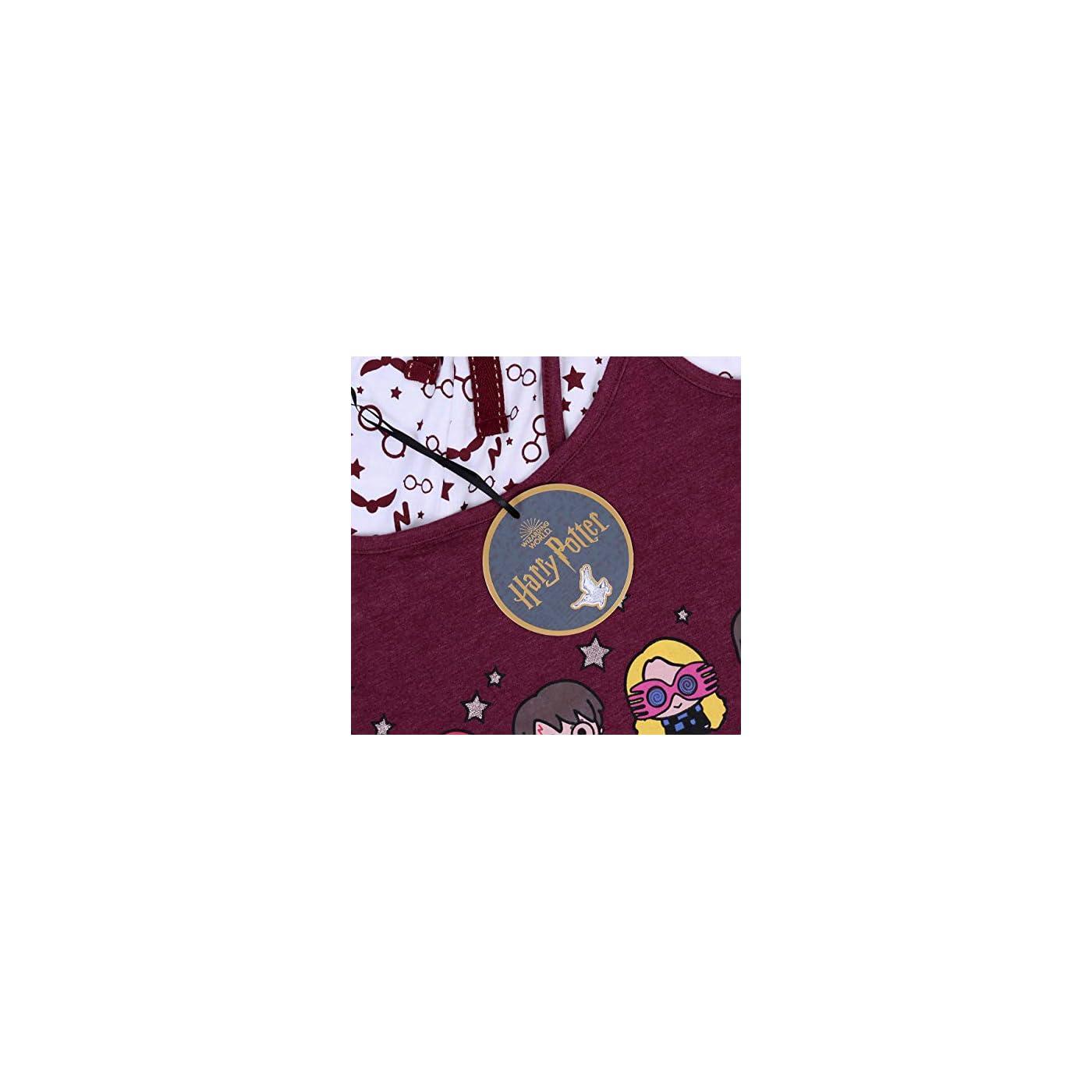 HARRY POTTER Camiseta de Tirantes Emblema de Hogwarts de Elbenwald Blanco