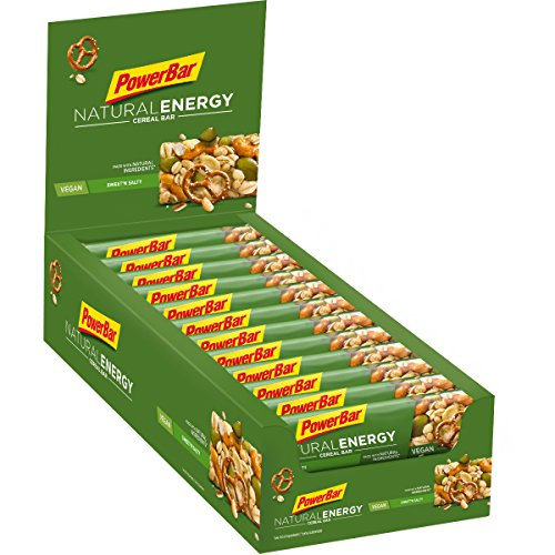 Powerbar natural energy cereales 24 barritas x 40 gr - sabor - cereales