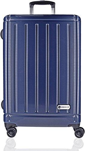 checkin-halifax-4-rollen-trolley-78-cm-mit-doppelrollen-carbon-blau