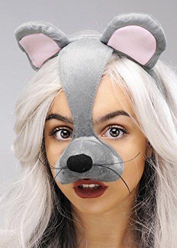Maus Maske auf Stirnband