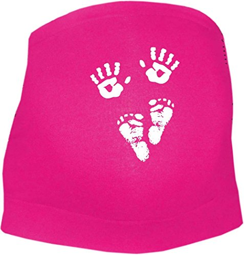 KLEINER FRATZ - Ceinture de grossesse spécial grossesse - Slogan - Femme - rose - 44