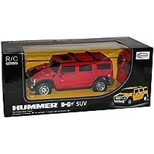 Modellauto GM-Hummer H2 ferngesteuertes RC Spielzeug Auto rot/gelb 1:27 ab 6
